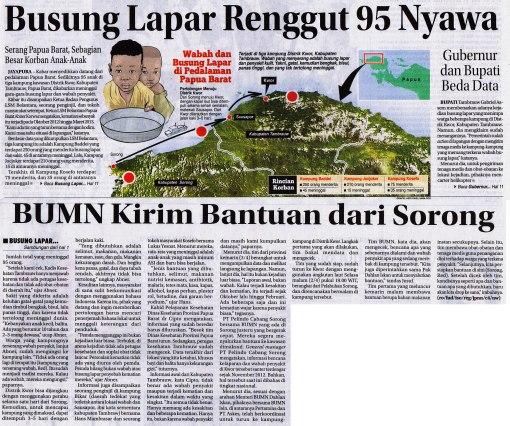 Kisah miris dari Indonesia Timur