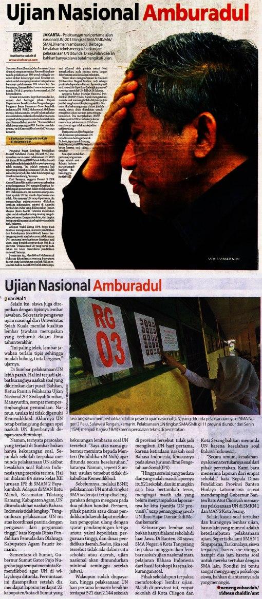 Sejarah dunia pendidikan Indonesia pun tercipta..