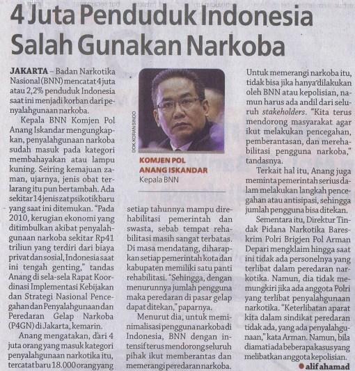 Yuk, intip cerita soal narkoba di Indonesia