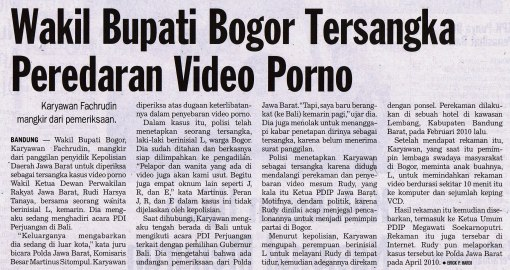Ingat video porno artis Indonesia? Ini saingannya